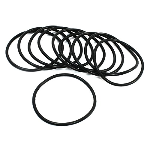 3 Sealed 63mm De O Uretano Poli Negro 1mm X 10pcs Flexible Anillo Lavadora qEvaw