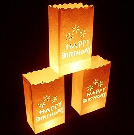 fascola blanco bolsas para velas - 10 unidades - diseño de ...