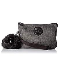 Kipling Creativity XL - Bolsa de algodón, color gris