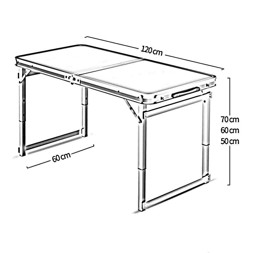 Duxx Height Adjustable Table Pliante De Loisirs Folding
