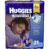 Huggies Overnites Diapers - Size 5 - 21 ct