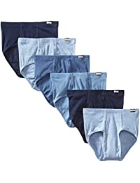 Hanes Men's 6-Pack Comfort Soft Mid-Rise Brief