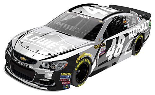 Lionel Racing Jimmie Johnson #48 Kobalt Tools 2016 Chevrolet SS NASCAR Diecast Car (1:24 Scale), Chrome by Lionel Racing