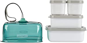 Rubbermaid Fasten + Go Sandwich Kit Seafoam Green