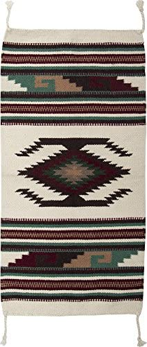 El Paso Designs Southwest Hand Woven Wool Accent Rug 20 X 40 HII40112W