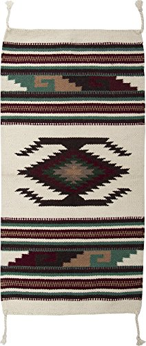 El Paso Designs Southwest Hand Woven Wool Accent Rug (20