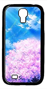Samsung Galaxy S4 I9500 Black Hard Case - Cherry Tree Galaxy S4 Cases