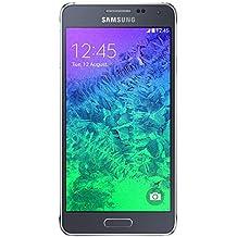 Samsung Galaxy Alpha G850a 32GB Carrier Unlocked GSM Quad-Core Smartphone w/ 12MP Camera - Charcoal Black