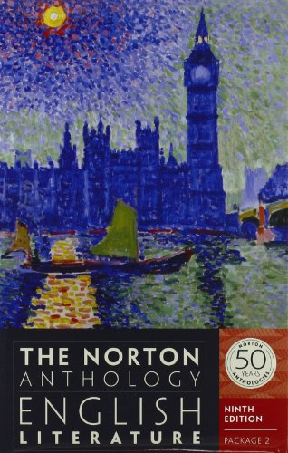 Norton Anth.English Lit.. Vol.D,E+F