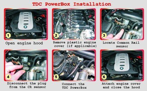 171 PS 343 NM Digital PowerBox CRplus Diesel Tuningchip Chiptuning Performance Module for Toyota Hilux 3.0 D4D 126 KW more power less fuel