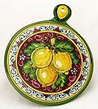 TOSCANA: Old Fashion Round Trivet - Dec Limone Rosso [#LR54-TOS]