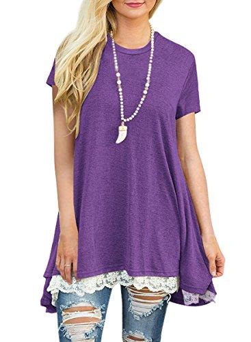 Donna Dark Purple Dark Nicias Camicia Nicias Donna Camicia Nicias Purple wT0ZqxOv