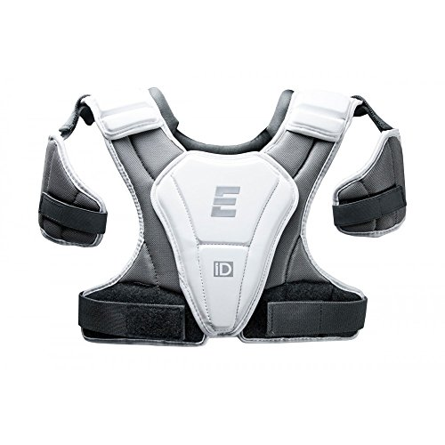Epoch Lacrosse iD High Performance, Lightweight, Flexible, Lacrosse Shoulder Pad for Attack, Middie and Defensemen (Large)