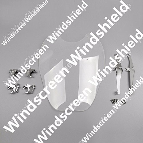 GOWE Windscreen Windshield For Harley Davidson Sportster XL883 1986-2010 XL1200 1988-2011 1PCS Clear Motor Covers Parts 0