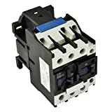 Direct Replacement for TELEMECANIQUE LC1-D32 AC Contactor LC1D32 LC1D3210-G6 120V Coil 3 Phase 3 Pole 32 Amp