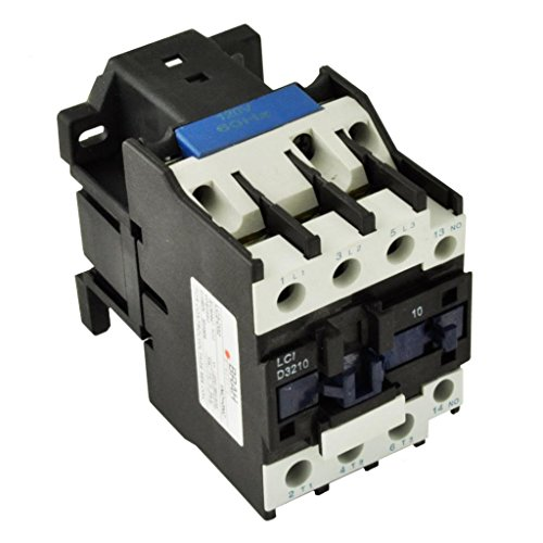 Direct Replacement for TELEMECANIQUE LC1-D32 AC Contactor LC1D32 LC1D3210-G6 120V Coil 3 Phase 3 Pole 32 ()
