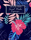 The Girl Boss Social Media Organizer: Weekly Social