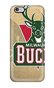 JenniferMurphy Case Cover Protector Specially Made For Iphone 6 Plus Milwaukee Bucks Nba Basketball