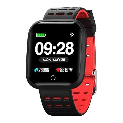 Azorex Smartwatch Reloj Inteligente Multifunción Deporte Impermeable IP67 Pulsera Actividad Control Remoto para Deporte Reloj de