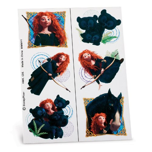 Disney Brave Tattoo Sheets (2) Party (Brave Tattoos)