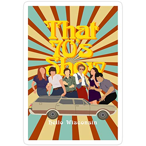 Story Storm Store That 70s Show Stickers (3 Pcs/Pack)