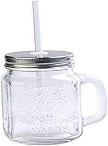 Toland Home Garden Mason Jar Mug, 1 pint, Clear -