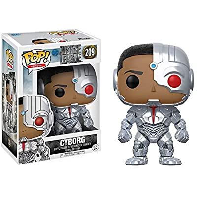 Funko POP! Movies: DC Justice League – Cyborg Toy Figure: Funko Pop! Movies:: Toys & Games