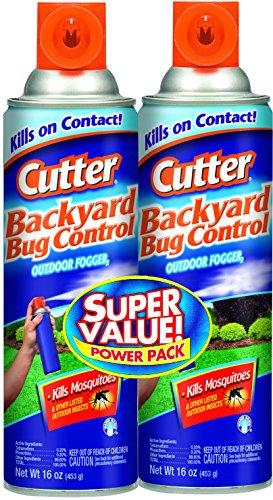Cutter Backyard Bug Control Outdoor Fogger,16oz, Pack of 2