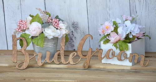 Bride and Groom Chair Signs - Mr & Mrs Chair Signs - Better Together Chair Signs - Hanging Chair Signs - Chair Backs Decorations - Weddings