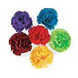 Fun365 Fiesta Flower Hair Clips-12 per Pack