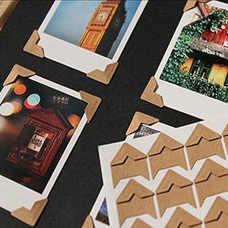 Pack Of 240 White Self-Adhesive Photo Corners