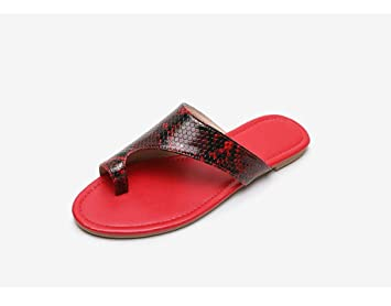 Toe Ethnic Pattern Handmade Flat Shoes