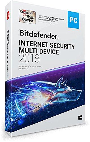 Bitdefender Internet Security Multi Device 2018 - 1 Gerät | 1 Jahr / 365 Tage (Windows) - Aktivierungscode