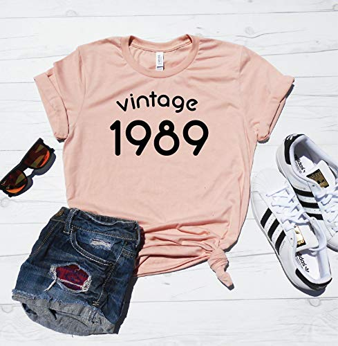 Vintage 1989 Shirt/Cute 30th Birthday Shirt / 30th Birthday T-Shirt/Vintage 1989 Tee/Unisex Fit/XS-4XL Sizes / 30th Birthday Party