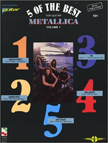 Metallica: 5 Of The Best - Volume 1. Partituras para Acorde de ...