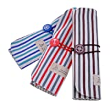 Neewer Durable Striped Wrap Roll Up Canvas Pen Pencil Case Bag Pouch Holder