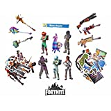 Fortnite Stickers 40 pc Value Pack Variety Fortnite Vinyl Stickers [VC Official Release]