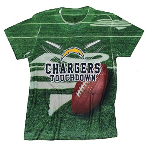 Outerstuff San Diego Chargers TOUCHDOWN NFL Youth T-shirt, XX-Large (18)
