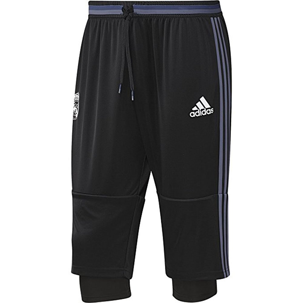 Adidas Mens Real Madrid 3つ B01GLUVELQ Medium|ブラック ブラック Medium