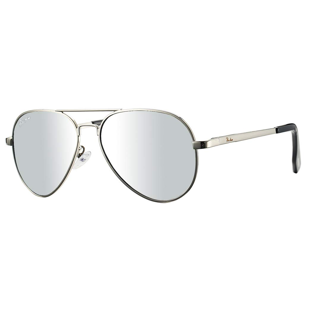 Pro Acme Small Polarized Aviator Sunglasses for Kids and Youth Age 5-18