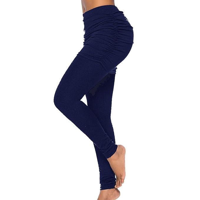 Pantalones Largo Moda Color Sólido Slim Fit Pantalon ...