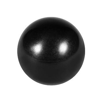 8mm Gewinde Durchmesser 31mm Dmr 5Stk Kugelknopf Maschinengriff schwarz