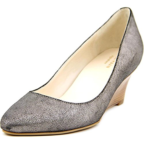 Cole Haan Catalina Wedge Women US 7 Silver Wedge Heel (Cole Haan Catalina compare prices)