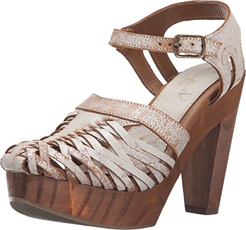 Cordani Leather Heels (Cordani Women's Angel Vintage Ivory Leather Sandal 5)