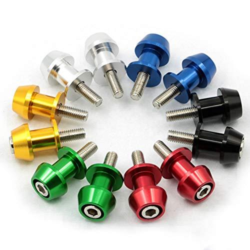- Star-Trade-Inc - 2pcs 8mm Motorbike CNC Swingarm Swing Arm Spools Sliders For Honda CBR 600 900 929 1000 RR ST1300 CB600F CBF1000 CBR1100XX
