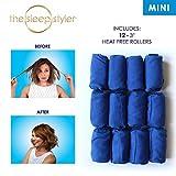 Allstar Innovations The Sleep Styler, The heat-free Nighttime Hair Curlers for Short or Long Fine Hair, 12 Count, As Seen on Shark Tank