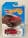 Hot Wheels 2017 Factory Fresh Tesla Model X 196 365 - Maroon