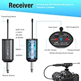 UHF Wireless Microphone System Headset Mic/Stand
