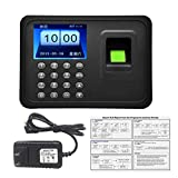 Biometric A6 2.4 inch TFT USB 32bit CPU Fingerprint Time Attendance Machine Clock Record NoNeed Software
