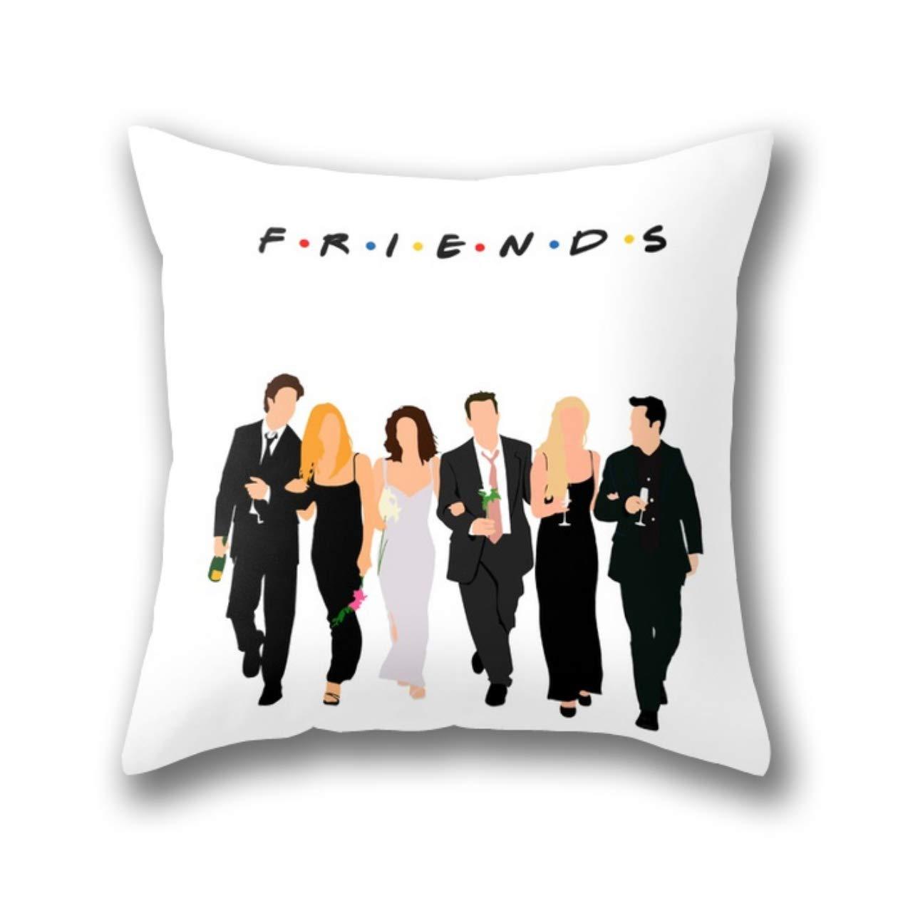 GYTOP Friends Fundas de Cojines de Funda de Almohada de Tiro est/ándar 45 x 45 cm